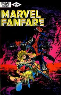 Cover Thumbnail for Marvel Fanfare (Marvel, 1982 series) #2