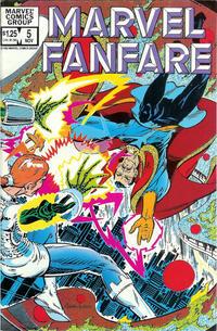 Cover Thumbnail for Marvel Fanfare (Marvel, 1982 series) #5