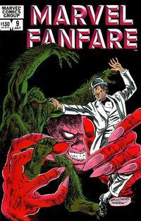 Cover Thumbnail for Marvel Fanfare (Marvel, 1982 series) #9