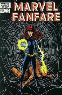 Cover Thumbnail for Marvel Fanfare (Marvel, 1982 series) #10