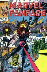 Cover Thumbnail for Marvel Fanfare (Marvel, 1982 series) #11