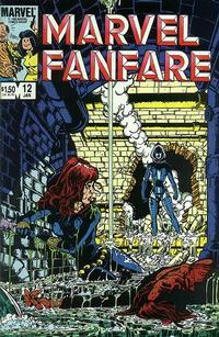 Cover Thumbnail for Marvel Fanfare (Marvel, 1982 series) #12