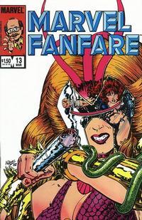 Cover Thumbnail for Marvel Fanfare (Marvel, 1982 series) #13