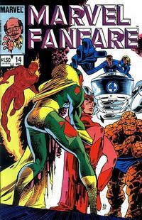 Cover Thumbnail for Marvel Fanfare (Marvel, 1982 series) #14