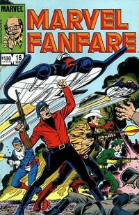 Cover Thumbnail for Marvel Fanfare (Marvel, 1982 series) #16