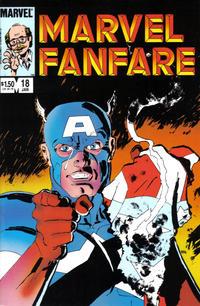 Cover Thumbnail for Marvel Fanfare (Marvel, 1982 series) #18