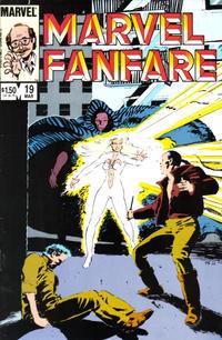 Cover Thumbnail for Marvel Fanfare (Marvel, 1982 series) #19