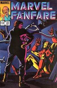 Cover Thumbnail for Marvel Fanfare (Marvel, 1982 series) #22