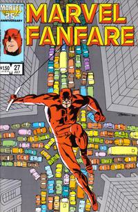 Cover Thumbnail for Marvel Fanfare (Marvel, 1982 series) #27