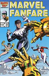 Cover Thumbnail for Marvel Fanfare (Marvel, 1982 series) #28