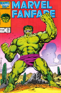 Cover Thumbnail for Marvel Fanfare (Marvel, 1982 series) #29