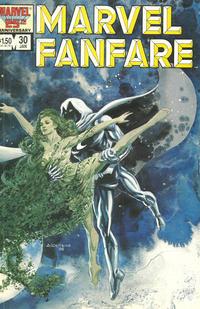 Cover Thumbnail for Marvel Fanfare (Marvel, 1982 series) #30