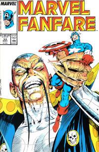 Cover Thumbnail for Marvel Fanfare (Marvel, 1982 series) #32