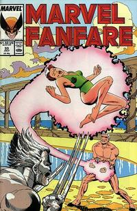 Cover Thumbnail for Marvel Fanfare (Marvel, 1982 series) #33
