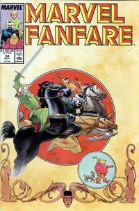 Cover Thumbnail for Marvel Fanfare (Marvel, 1982 series) #34