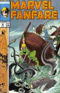 Cover Thumbnail for Marvel Fanfare (Marvel, 1982 series) #36