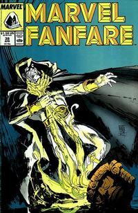 Cover Thumbnail for Marvel Fanfare (Marvel, 1982 series) #38