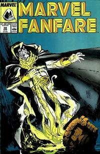 Cover Thumbnail for Marvel Fanfare (Marvel, 1982 series) #38