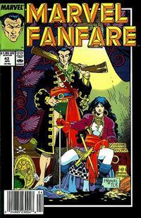 Cover Thumbnail for Marvel Fanfare (Marvel, 1982 series) #43