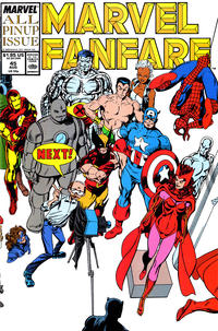 Cover Thumbnail for Marvel Fanfare (Marvel, 1982 series) #45