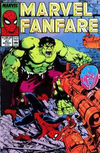 Cover Thumbnail for Marvel Fanfare (Marvel, 1982 series) #47