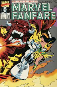 Cover Thumbnail for Marvel Fanfare (Marvel, 1982 series) #51