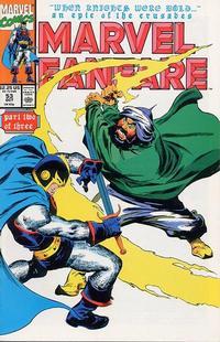 Cover Thumbnail for Marvel Fanfare (Marvel, 1982 series) #53