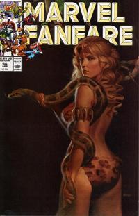 Cover Thumbnail for Marvel Fanfare (Marvel, 1982 series) #56