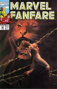 Cover Thumbnail for Marvel Fanfare (Marvel, 1982 series) #58