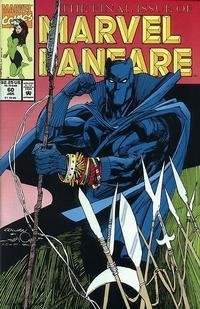Cover Thumbnail for Marvel Fanfare (Marvel, 1982 series) #60
