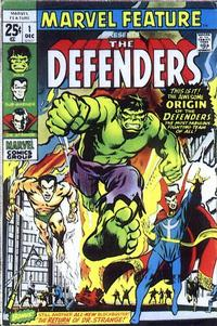 Cover Thumbnail for Marvel Feature (Marvel, 1971 series) #1