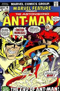 Cover Thumbnail for Marvel Feature (Marvel, 1971 series) #10