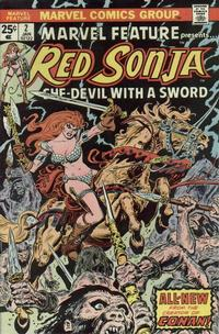 Cover Thumbnail for Marvel Feature (Marvel, 1975 series) #2