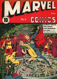 Cover Thumbnail for Marvel Mystery Comics (Marvel, 1939 series) #6
