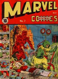 Cover Thumbnail for Marvel Mystery Comics (Marvel, 1939 series) #7