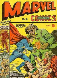 Cover Thumbnail for Marvel Mystery Comics (Marvel, 1939 series) #8