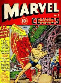 Cover Thumbnail for Marvel Mystery Comics (Marvel, 1939 series) #9