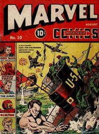 Cover Thumbnail for Marvel Mystery Comics (Marvel, 1939 series) #10