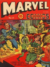 Cover Thumbnail for Marvel Mystery Comics (Marvel, 1939 series) #12