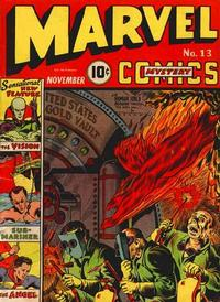 Cover Thumbnail for Marvel Mystery Comics (Marvel, 1939 series) #13