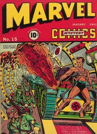 Cover Thumbnail for Marvel Mystery Comics (Marvel, 1939 series) #15