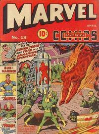 Cover Thumbnail for Marvel Mystery Comics (Marvel, 1939 series) #18