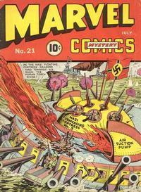 Cover Thumbnail for Marvel Mystery Comics (Marvel, 1939 series) #21