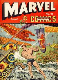 Cover Thumbnail for Marvel Mystery Comics (Marvel, 1939 series) #22