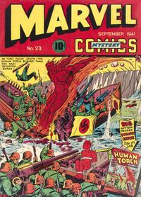 Cover Thumbnail for Marvel Mystery Comics (Marvel, 1939 series) #23