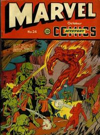Cover for Marvel Mystery Comics (Marvel, 1939 series) #24