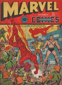 Cover Thumbnail for Marvel Mystery Comics (Marvel, 1939 series) #25