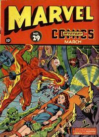 Cover Thumbnail for Marvel Mystery Comics (Marvel, 1939 series) #29