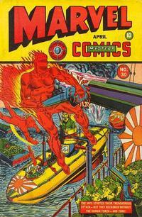 Cover Thumbnail for Marvel Mystery Comics (Marvel, 1939 series) #30
