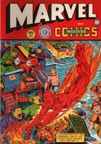 Cover Thumbnail for Marvel Mystery Comics (Marvel, 1939 series) #31